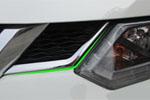 Хром накладка под решетку радиатора для Nissan X-Trail 2014+ (Kindle, NX-C43)