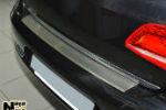 Накладка (с загибом) на задний бампер для Kia Carens III 2006+ (NataNiko, Z-KI11)