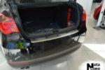 Накладка (с загибом) на задний бампер для MG 550 (4D) 2012+ (NataNiko, Z-MG03)