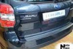 Накладка (с загибом) на задний бампер для Subaru Forester IV 2013- (NataNiko, Z-SB12)