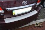 Накладка (с загибом) на задний бампер для Toyota Avensis III 2010- (NataNiko, Z-TO15)