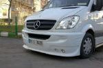 Накладка на передний бампер для Mercedes Sprinter (W906) 2005+ (DDA-TUNNING, 123123)