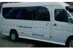 Аэродинамические боковые пороги (2 шт., длинная база) для Mercedes-Benz Sprinter (W901) 1995-2006 (DDA-TUNNING, NACMS90101)