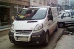 Губа на передний бампер для Opel Vivaro/Renault Trafic 2001-2007 (DDA-TUNNING, NACRENTRA0701)