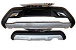 Накладки на передний и задний бамперы для Changan CS35 2012+ (Kindle, HM-CC3-B21/HM-CC3-B22)