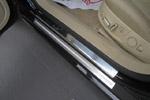 Накладки на пороги Audi A6 (С6) 2004- (Alu-Frost, 08-1511)