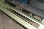 Накладки на пороги Seat Cordoba III 2003-2009 (Alu-Frost, 08-1419)