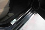 Накладки на пороги Toyota RAV4 II 2000-2005 (Alu-Frost, 08-0737)