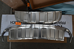 Накладки на передний и задний бамперы для Audi Q7 2012+ (Kindle, Q7-B21)