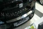 Накладка на задний бампер для Seat Altea 2004+ (NataNiko, B-SE02)