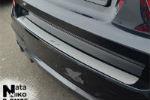 Накладка на задний бампер для BMW X3 II (F25) 2010+ (NataNiko, B-BM05)