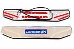 Накладки на пороги с подсветкой Mitsubishi Lancer X (BGTPro, MLX-SILL-1)