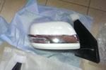 Хром накладки на зеркала к-т 2 шт. для Toyota Land Cruiser 200 2007- (S-Line, KR.SL.LC200.MСS)