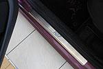 Накладки на внутренние пороги (нерж.) для Peugeot 107 5D 2005- (Nata-Niko, P-PE06)