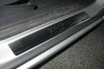 Накладки на внутренние пороги (нерж.) для Opel Zafira B 2005- (Nata-Niko, P-OP22)