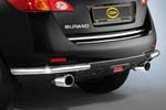 Защита задняя (уголки) d48 для Nissan Murano 2008- (Cobra, NIS1565)