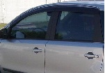 Дефлекторы окон (темные) Nissan NOTE c 2006 (EGR, EGR 92463 034B)