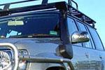 Выносной воздухозаборник Nissan Patrol 2004- GU +3LTR FACT TURBO/ICOOLER (ARB-Safari, SS17HF)