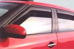 Ветровики (дефлекторы окон) для Nissan Juke 2011- (Climair, CLI0033728/CLI0044335)