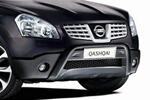 Защита переднего бампера Nissan Qashqai 2008- (Kindle, DS-Q-008)