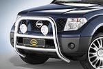 Дуга передняя Nissan Pathfinder R51 05- 5D d80 (Cobra, NIS1761)