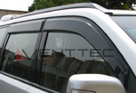 Дефлекторы окон (ветровики) для Nissan X-Trail 2007-2014 (Kindle, NX-V01)