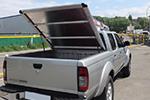 """Крышка кузова """"рифленый алюминий""""  Nissan NP-300 DCAB 2009- (Arkom, NNP.300.AK.COVERBODY)"""