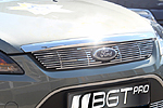 Накладка на решетку радиатора (гриль) для Ford Focus (от 2008) (BGT-PRO, BGT-PRO-NRR-FOR-FO)