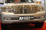 Накладка на решетку бампера (гриль) для Toyota LC200 (BGT-PRO, BGT-PRO-NRRG-TOYLC200)