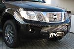 Накладка на решетку бампера (гриль) для Nissan Pathfinder/Navara (от 2010) (BGT-PRO, BGT-PRO-NRBG-NIS-PATH)