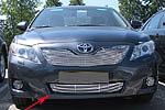 Накладка на решетку бампера (гриль) для Toyota Camry V41 (2010) (BGT-PRO, BGT-PRO-NRBRG-TOYCAM10)