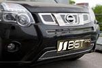 Накладка на решетку бампера (сетка) для Nissan X-Trail Т-32 (от 2010) (BGT-PRO, BGT-PRO-NRBS-NIS-XT-T32)