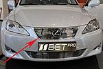 Накладка на решетку радиатора (гриль) для Lexus IS 250 (BGT-PRO, BGT-PRO-NRR-LEX-IS)