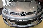 Накладка на решетку радиатора и бампера (гриль) для Mazda CX-7 (от 2010) (BGT-PRO, BGT-PRO-NRRB-MAZ-CX7)