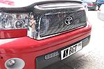 Накладка на решетку радиатора и бампера (гриль) Toyota Tundra 2007- (BGT-PRO, RRBGR-TOYTUN)