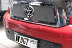 Накладка на решетку радиатора и бампера (сетка) Toyota Tundra 2007- (BGT-PRO, RRBPSET-TOYTUN)