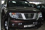 Накладка на решетку радиатора (гриль) для Nissan Pathfinder/Navara (от 2004) (без логотипа) (BGT-PRO, BGT-PRO-NRRG-NISPATH04)