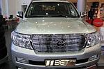 Накладка на решетку радиатора (гриль) для Toyota LC200 (BGT-PRO, BGT-PRO-NRRGR-TOYLC200)