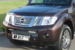 Накладка на решетку радиатора (сетка) для Nissan Pathfinder/Navara (от 2010) (BGT-PRO, BGT-PRO-NRRS-NIS-PATH)