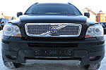 Накладка на решетку радиатора (сетка) для Volvo XC 90 (BGT-PRO, BGT-PRO-NRRS-VOLXC90)