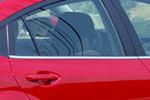 Наружная окантовка стекла Mazda 3 2003-2008 (Omsa Prime, 000149)