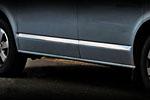 Хромированный молдинг на двери для Short Base Volkswagen T5 Transporter/Multivan 2010- (Omsa Prime, 7522131)