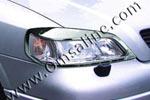 Накладки передних фар Opel Astra G (Omsa Prime, 520198102)
