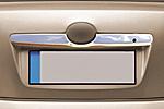Хром накладка задней двери над номером для Toyota Camry 2007- (Omsa Prime, 7021..052)