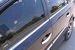 Накладки на двери Opel Vectra C 2004- 4шт верхние (Omsa Prime, 520604141)
