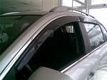 Дефлекторы окон (темные) на Opel ASTRA H 5dr с 2004 (EGR, EGR 92465 019B)