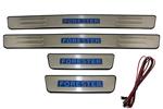 Накладки на пороги с подсветкой для Subaru Forester 2008-2011 (Kindle, SF-P03)