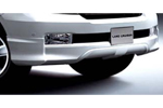 Спойлер переднего бампера Toyota LC 200 (Original Toyota, 08154-60090)