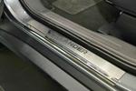 Накладки на внутренние пороги (нерж.) для Mitsubishi Outlander III 2013- (Nata-Niko, P-MI14)