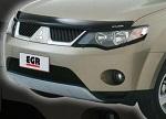 Дефлектор капота Mitsubishi Outlander с 2007 (EGR, EGR 026141L)